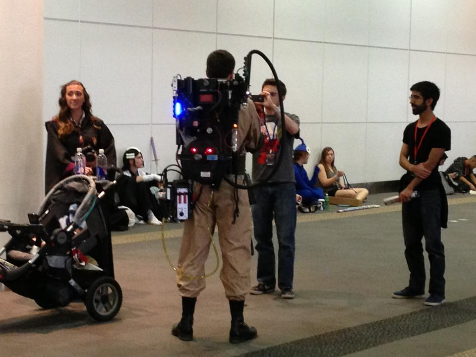 Amazing Ghost Busters!  Don't cross the streams!